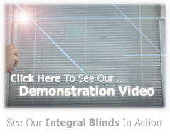 Click Here to See Our Integral Blinds Video